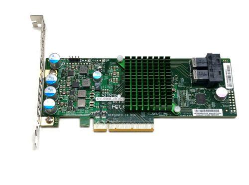 Supermicro AOC-S3008L-L8E 12Gb/s 8-Port HBA IT-Mode Controller SAS 3008 SFF-8643