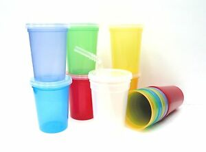 Small Children S Drinking Cups With Straws