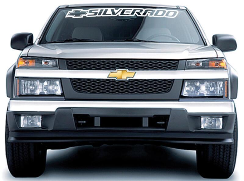 Silverado Decals EBay - Chevy decals for trucks