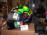 Casco Agv Integrale K3 Sv Replica Valentino Rossi Tartaruga Doppia Visiera S - valentino - ebay.it