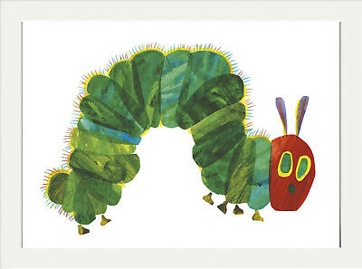 THE VERY HUNGRY CATEPILLAR ERIC CARLE A4 POSTER DECOR GIFT NURSERY - The Very Hungry Catepillar