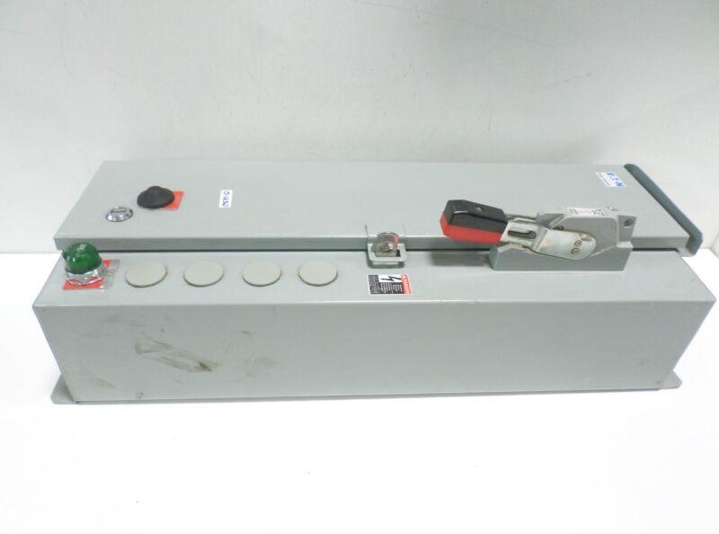 EATON CUTLER-HAMMER COMBINATION MOTOR CONTROLLER SERIES A1 ECN2412SQB NNB