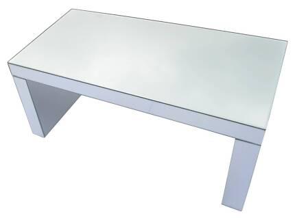 Mirrored Coffee Table Mirror Furniture