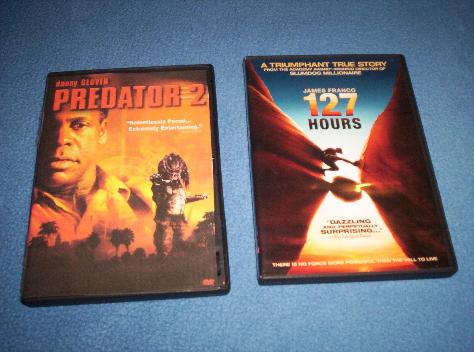 127 Hours Predator 2 DVD s - $5.00