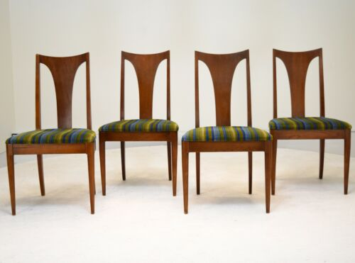 Broyhill Saga Dining Chairs set of 4 vintage mid century modern