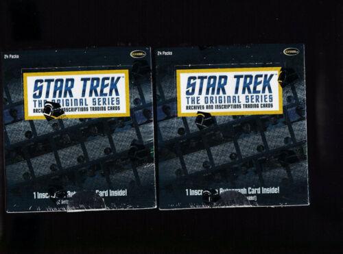 Star Trek TOS Archives /& Inscriptions Base Card #59 Variant 1