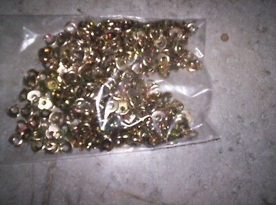 6 Terminal Cup Washer Approximately 500 Pieces New