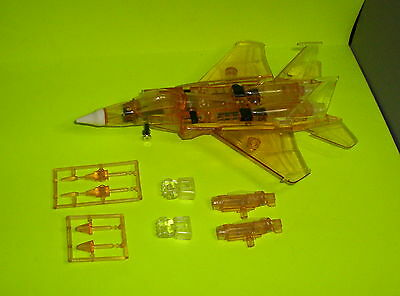 Prototype G1 Transformers Sunstorm Clear Yellow Plastic