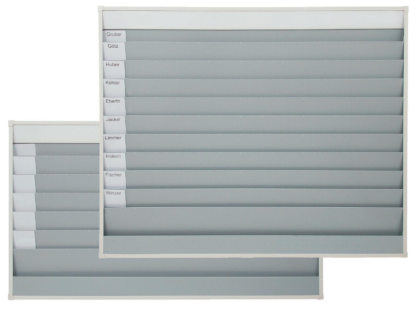Eichner Planungstafel Werkstattplaner Stecktafel Werkstatttafel Fächer breit