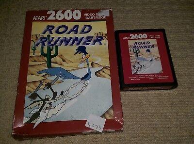 ROAD RUNNER  - Rare Boxed ATARI 2600 Game