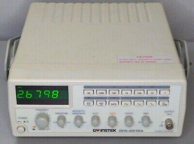 1 - Gw Instek Gfg-8219a Function Generator 3mhz 6-digit