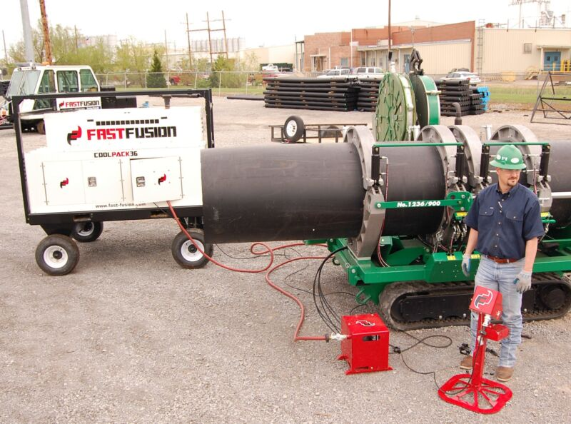 FastFusion Cool Pack 36 for McElroy Pipe Fusion Machine HDPE PE Welder