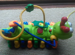 Caterpillar musical instrument pull along activity toy Mount Riverview Blue Mountains Preview