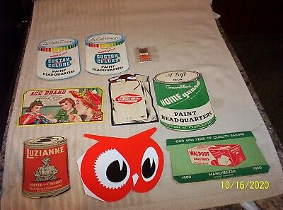 VINTAGE SEWING NEEDLE ADVERTISING BOOKLETS - LUZIANNE COFFEE - RED OWL ETC..