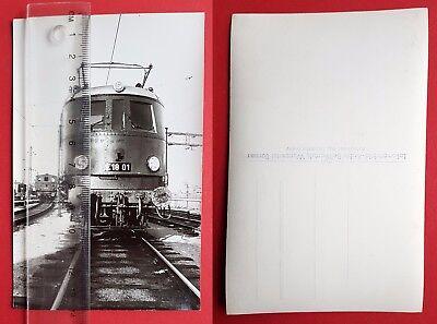 Eisenbahn Foto AK von Bellingrodt DR E-Lok E18 01    ( 24687
