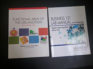 BU 121 Textbook + Lab Manual