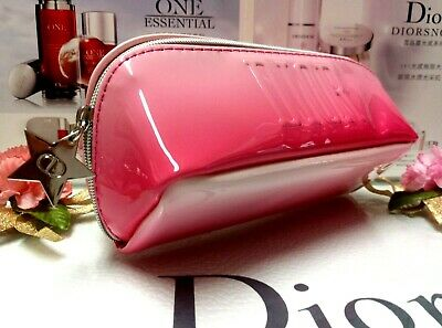 "Dior Makeup Bag✰☾Red Gradient Glossy Cosmetic Bag☽✰"" Lucky Star ""~ ☾FREE POST!!☽"