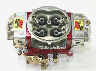 AED Holley Double Pumper 950 HO Carburetor Red Billet Base Plate Special Edition
