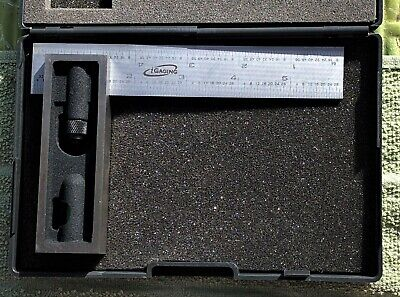 Igaging 6 High Precision Combination Square 2 Piece 164th Rule Scratch