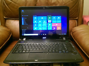 Acer Aspire 5935G Black Laptop 120GB SSD 4GB RAM Angle Park Port Adelaide Area Preview