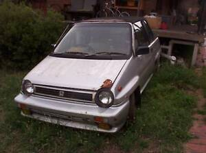 1985 Honda City Cabriolet - Auto - With Turbo Cluster, not installed