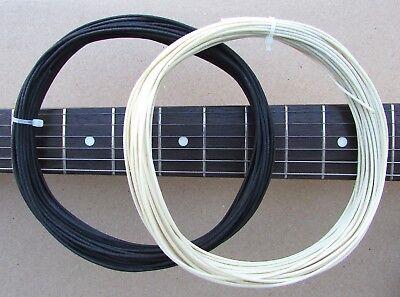 - 12 Feet Gavitt Vintage Style Pre-tinned Cloth 22 awg Wire for Guitars - 22 ga