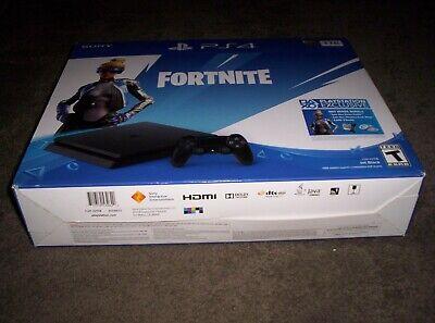 PlayStation 4 Slim 1TB Console - No Fortnite - 2 Controllers - See Description