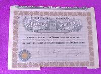 Campañia Española De Minas Del Rif 1928 -  - ebay.es