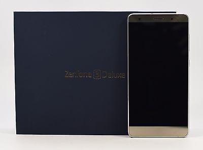 "OPEN BOX - ASUS ZenFone 3 Deluxe ZS570KL Silver (Factory Unlocked) 64GB 5.7"" HD"