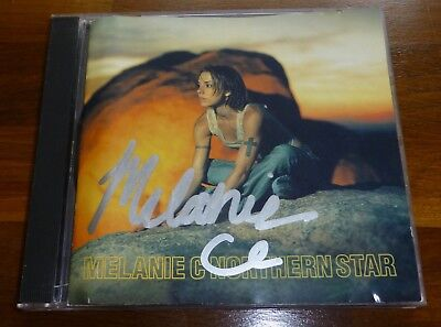 MELANIE C-A CD Disc Cover-HAND Signed By Mel With a COA & With The CD Too