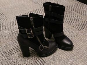 Le Chateau platform booties BRAND NEW IN BOX