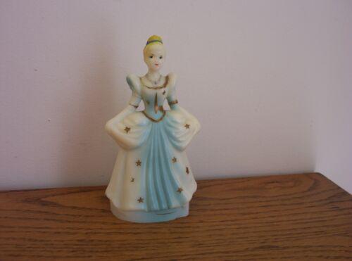Antique Vintage Disney Cinderella Figurine Watch Display FIGURE 1960