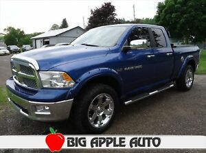 2011 RAM 1500 Laramie Quad Cab. Leather