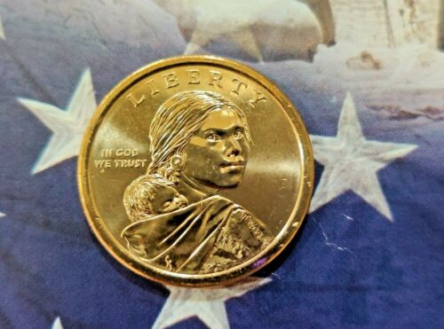"2009-D Sacagawea Native American Dollar !! US Mint Coin ""Brilliant Uncirculated"""