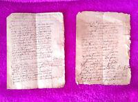 Manresa, 2 Manuscrits De Monestir De Nostra Sra Del Carme, 1685, Molt Rars -  - ebay.es