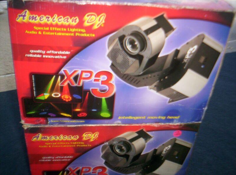 2 American DJ XP-3 Lights