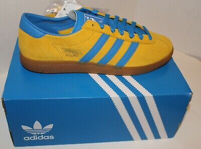 ADIDAS ORIGINALS MALMO YELLOW/BLUE (CITY SERIES) Size US 9 EE5725
