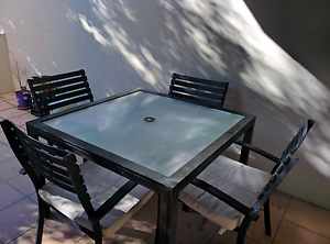 Outdoor dining set, 4 chairs Cronulla Sutherland Area Preview