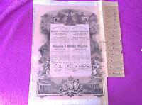 Obligacion Ferrocarriles Directos Madrid Y Zaragoza A Barcelona 1883 -  - ebay.es