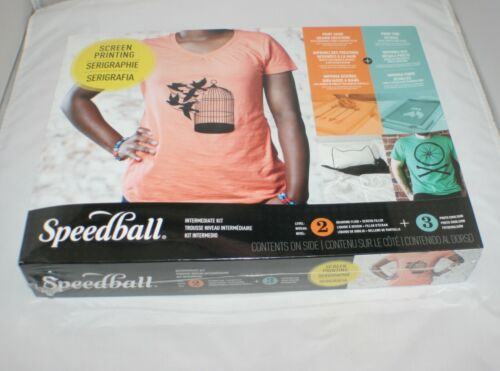Speedball Intermediate All-In-One Screen Printing Kit 004526 Sealed New