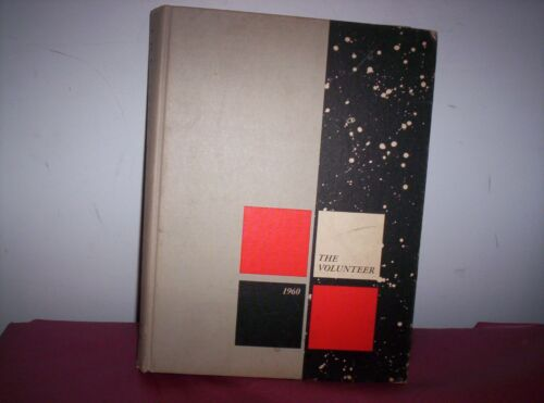 1960 Volunteer University of Tennessee Yearbook