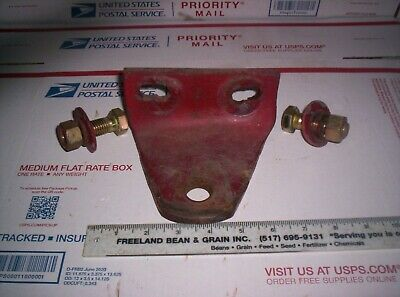 Massey Harris 30 33 333 More Tractor Drawbar Hitch Plate Bracket Front Hitch