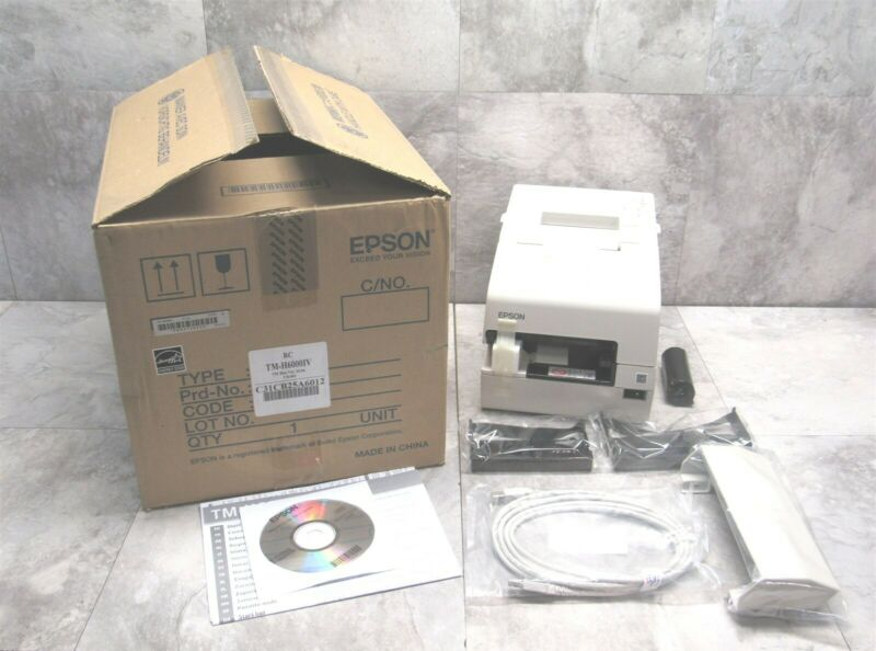 NEW Epson TM-H6000IV POS Terminal Receipt Thermal Printer M253A - WHITE