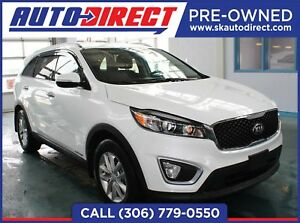 2017 Kia Sorento 3.3L LX V6 7-Seater FULLY LOADED  /  HEATED...