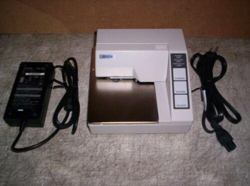 Nice Epson TM-U295 071 Slip Printer w/ Power Supply M66SA Serial I/F Guaranteed