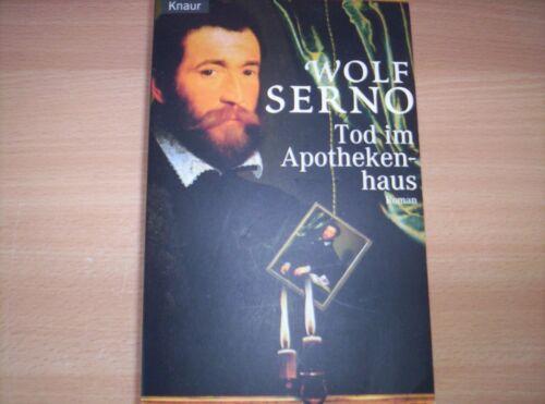 TOD IM APOTHEKENHAUS - WOLF SERNO -