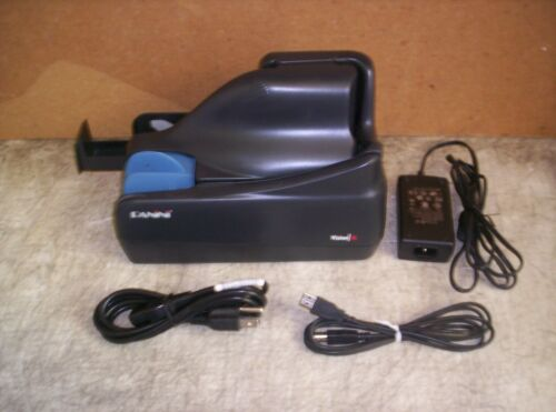 Panini Vision X Check Scanner w/ PS and USB Cable 100 DPM Unlimited Feeder