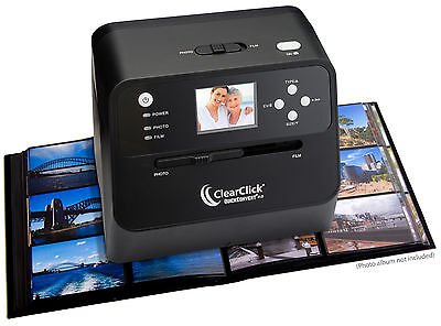 ClearClick 14 MP QuickConvert 2.0 Portable Photo, Slide, and Negative Scanner