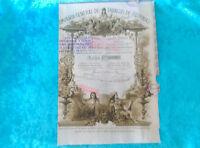 Accion Compañia De Tabacos De Filipinas 1882 -  - ebay.es