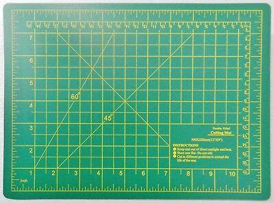 Cutting Mat Double Sided Self-Healing Board Matt Craft Hobby Art Supplies